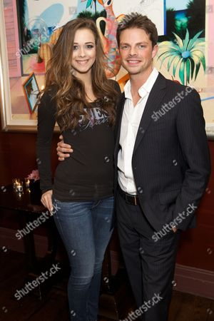 Stock Image of Aleisha Brooke-Smith and Brian Fortuna