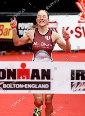 Womens race winner, Kristin Moeller of Germany