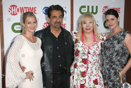 AJ Cook, Joe Mantegna, Kirsten Vangsnes and Paget Brewster