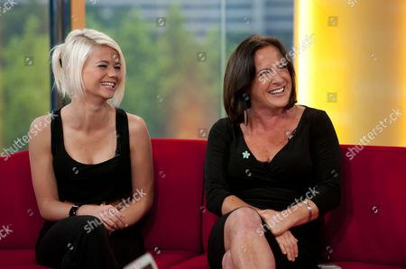 Danielle Harold and Cathy Murphy