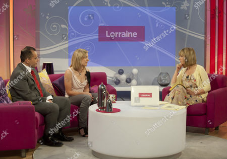 Surgeon, Mr Hussein El- Maghraby and Emma Bexson with Kate Garraway
