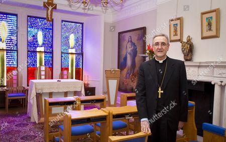 Editorial image of Apostolic Nunciatore Ambassador, Archbishop Antonio Mennini, London, Britain - 29 Jul 2011