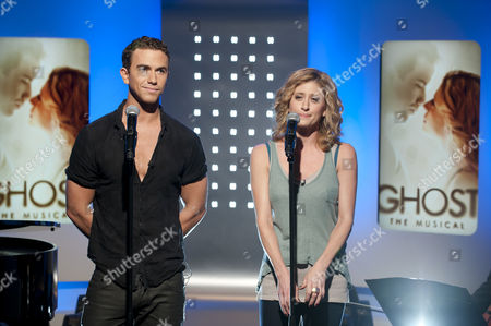 Stockfoto van Richard Fleeshman and Casey Levy