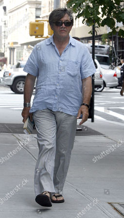 Editorial photo of Olek Krupa out and about in New York, America - 04 Aug 2011