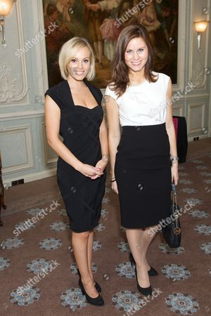 Laura Moore and Michelle Dewberry