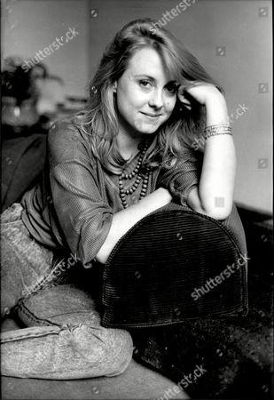 Actress Cathryn Harrison At Home In Battersea