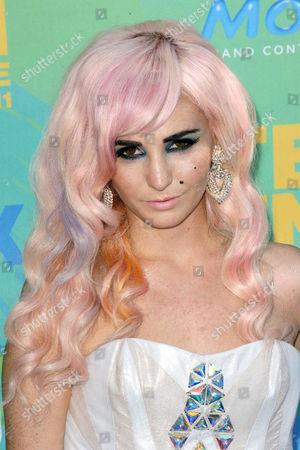Editorial photo of 2011 Teen Choice Awards, Los Angeles, America - 07 Aug 2011