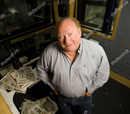 Talksport Radio morning show presenter Alan Brazil.