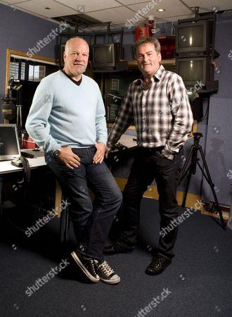 Richard Keys and Andy Gray