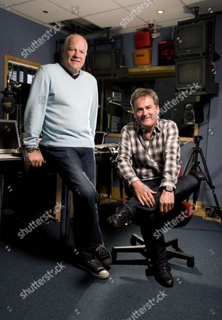 Talksport Radio show presenters Richard Keys (right) and Andy Gray.