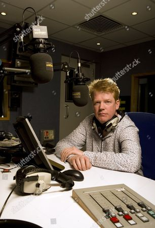 Stock Image of Talksport Radio presenter Adrian Durham.