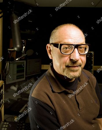 Stock Picture of Talksport Radio presenter Andy Jacobs.