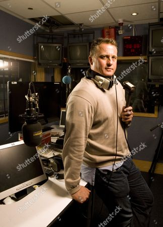 Talksport Radio presenter Darren Gough.
