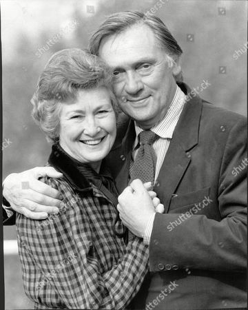 Cast Of Radio Programme Crown House. Dinah Sheridan And Richard Pasco.