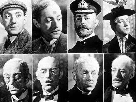"""SIR ALEC GUINNESS IN """"KIND HEARTS AND CORONETS"""""""