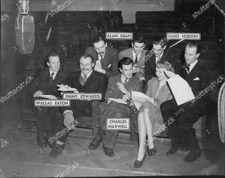 Cast Of Radio Programme ' Take It From Here ' Joy Nichols Dick Bentley Jimmy Edwards Wallas Eaton The Keynotes
