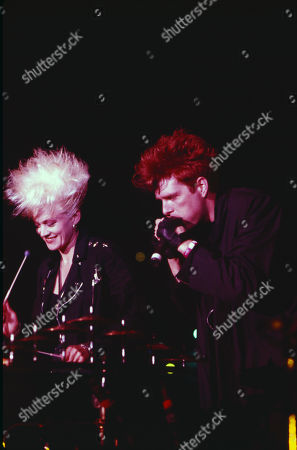 Stock Image of Thompson Twins Alannah Currie, Tom Bailey