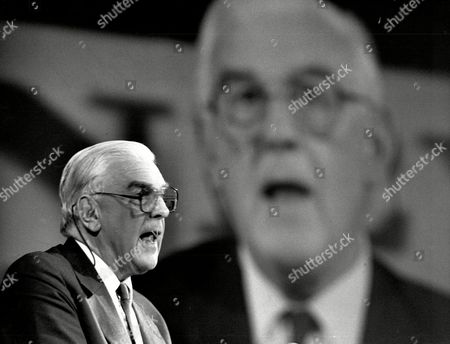Marmaduke Hussey Chairman Of The Bbc Seen Speaking T The Royal Albert Hall Today.