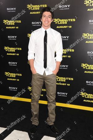 Editorial photo of '30 Minutes or Less' film premiere, Los Angeles, America - 08 Aug 2011