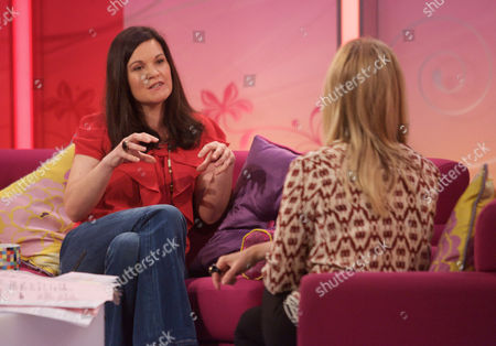 Editorial image of 'Lorraine Live' TV Programme, London, Britain - 09 Aug 2011