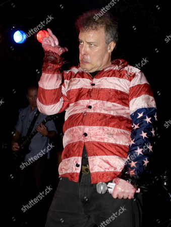 Stock Picture of Jello Biafra with his current band The Guantanamo School of Medicine