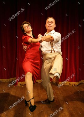 Anne-Jane Casey as Olive and Darren Bennett as Gary Strong
