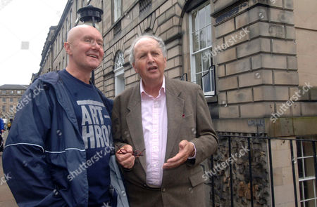 Irvine Welsh and Alexander McCall Smith