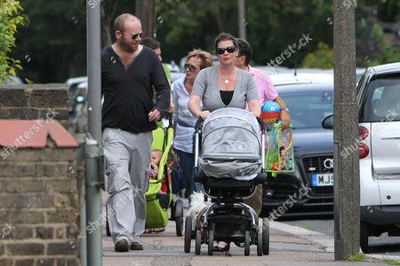 Hannah Waterman, Huw Higginson and son