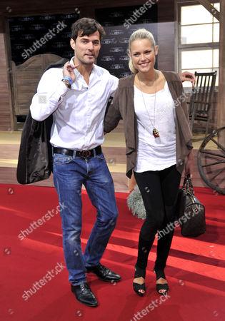 Tobey Wilson and Rebecca Kostl