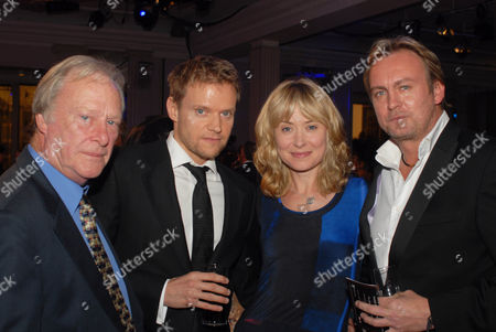 Dennis Waterman, Mark Warren, Beth Goddard and Philip Glenister