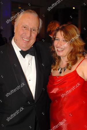 Frederick Forsyth and Belinda Bauer