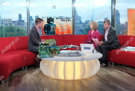 Phil Reay-Smith with Kate Garraway and Adrian Chiles