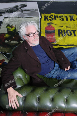Editorial photo of Jimmy Cauty at L-13 Light Industrial workshop, Clerkenwell, London, Britain - 16 May 2011