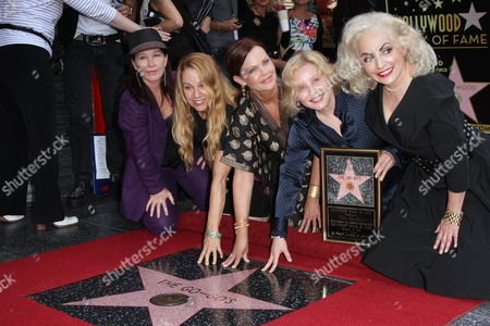The Go-Go's - Kathy Valentine, Charlotte Caffey, Belinda Carlisle, Gina Schock and Jane Wiedlin