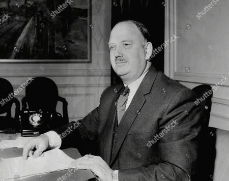 Lord Beeching (doctor Richard Beeching) Takes Up His New Position At British Transport Commission Headquarters.