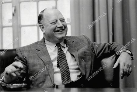 Editorial image of Lord Beeching (doctor Richard Beeching) Chairman Of Imperial Chemical Industries (ici) Upon His Resignation.