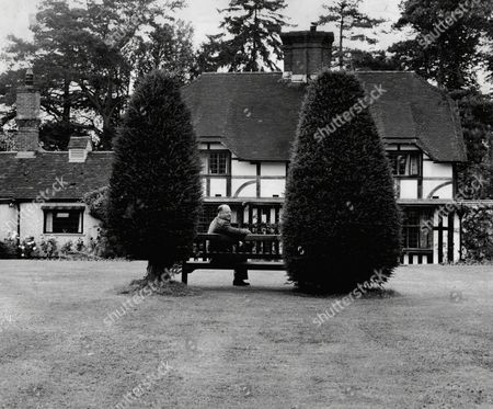 House And Garden Of Lord Beeching (doctor Richard Beeching) Chairman Of British Railways At Ashurst Wood Outside East Grinstead.