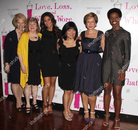 Daryl Roth, Marylouise Burke, Emmanuelle Chriqui, Ann Harada, Ye