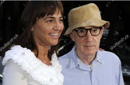 Renata Polverini and Woody Allen