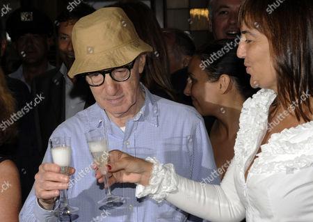Woody Allen and Renata Polverini
