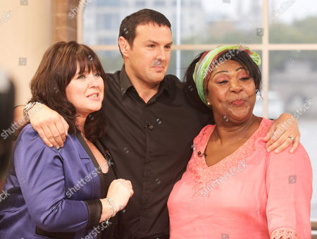 Coleen Nolan, Paddy McGuinness and Rusty Lee