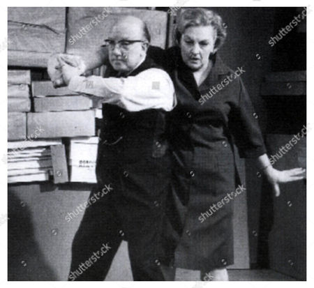 Betty Driver appeared with Arthur Lowe in Pardon The Expression In the final episode Betty injured her back during a stunt and we paralysed for 8 weeks