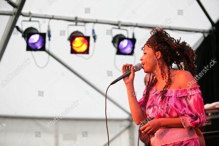 Singer Mina Agossi