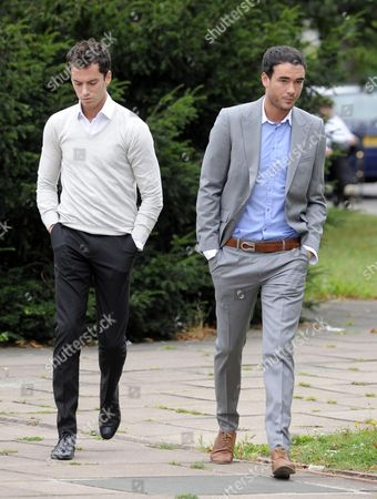 Jack Tweed (R) and Lewis Tweed