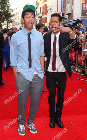 Editorial image of 'The Inbetweeners' film premiere, London, Britain - 16 Aug 2011