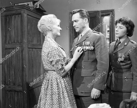 Ann Todd, Richard Todd and Dorothy Tutin