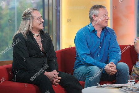 Wagner Carrilho and Martin Clunes