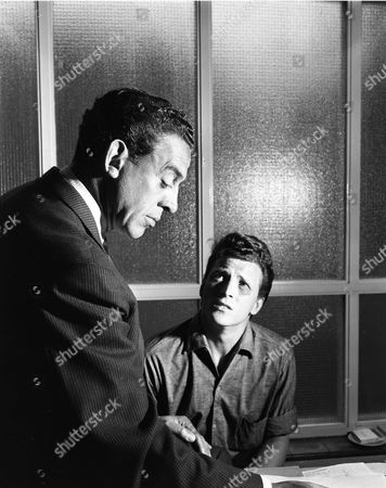 Eddie Byrne and Johnny Briggs