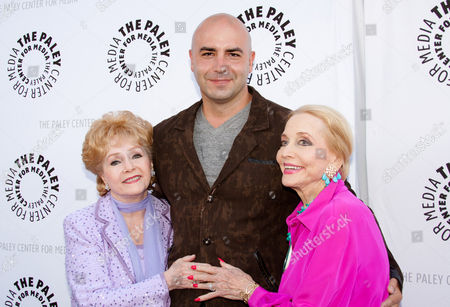Debbie Reynolds, Dominic Pace and Anne Jeffreys