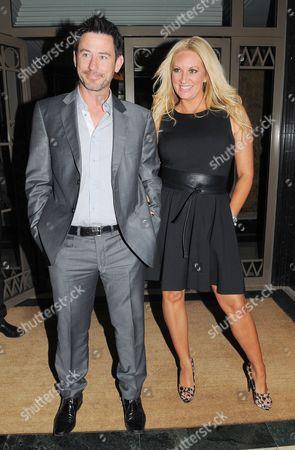 Sarah Bosnich and husband Steve Jones